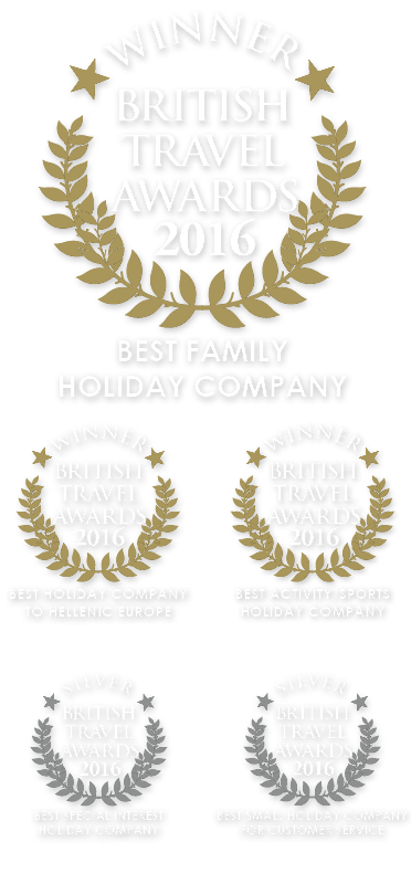 British Travel Awards Website 2016