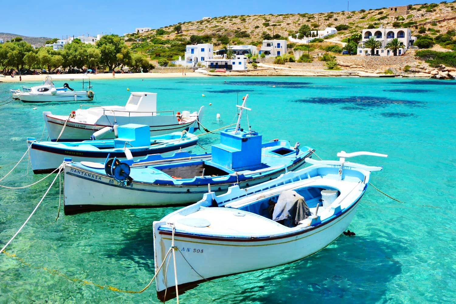 Irakleia Island Cyclades Islands Greece