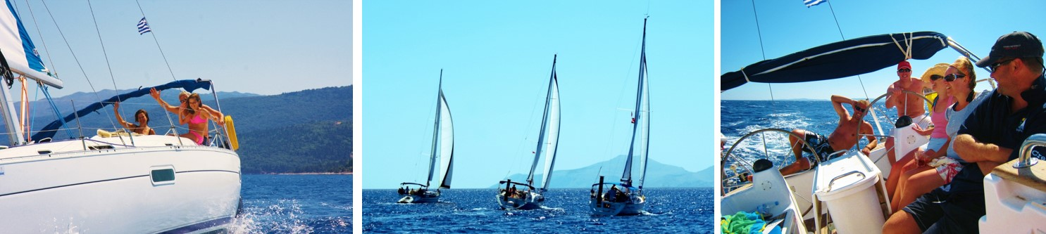 Sailing Triple Picture May Wind