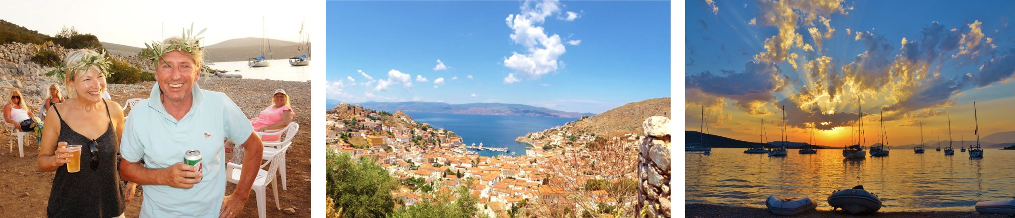 Saronic Islands Triple Picture