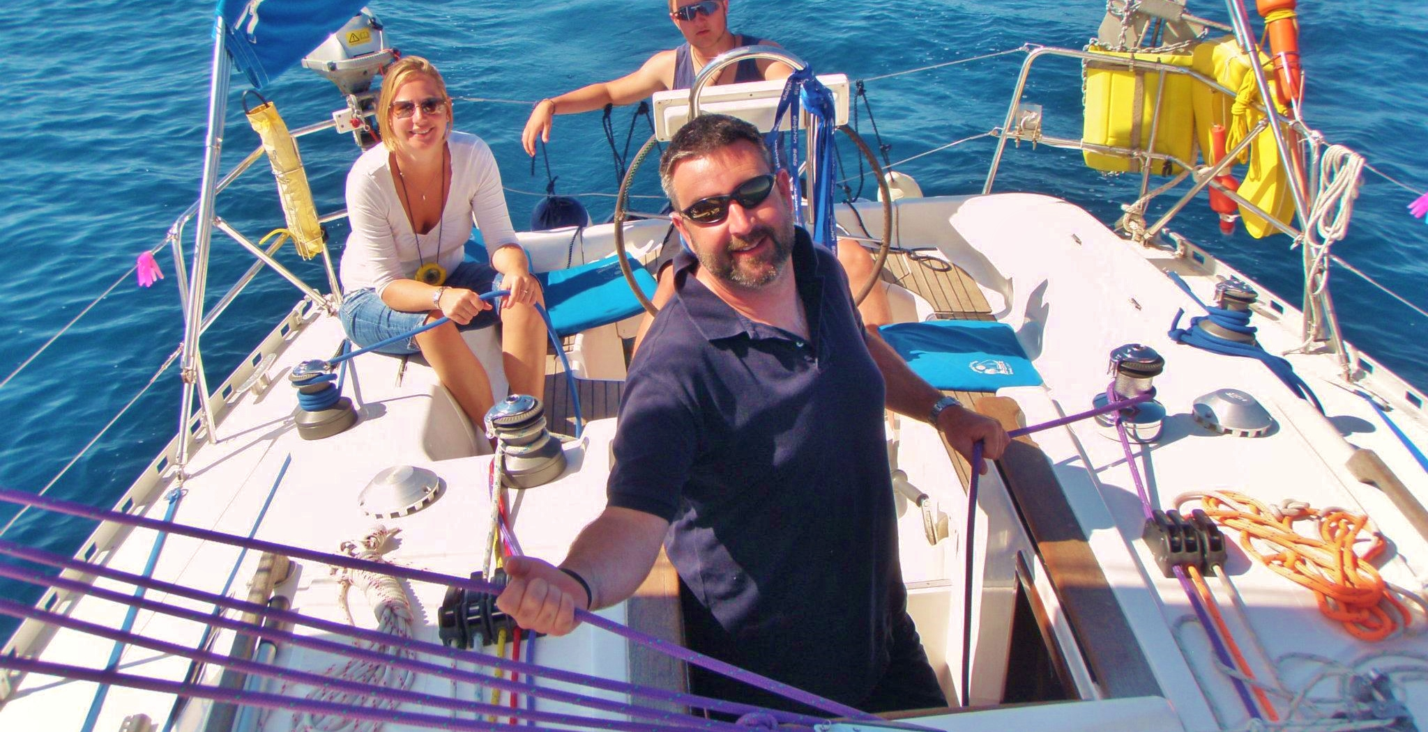 Greece Sailing School - Learn to Sail   Sunsail USA