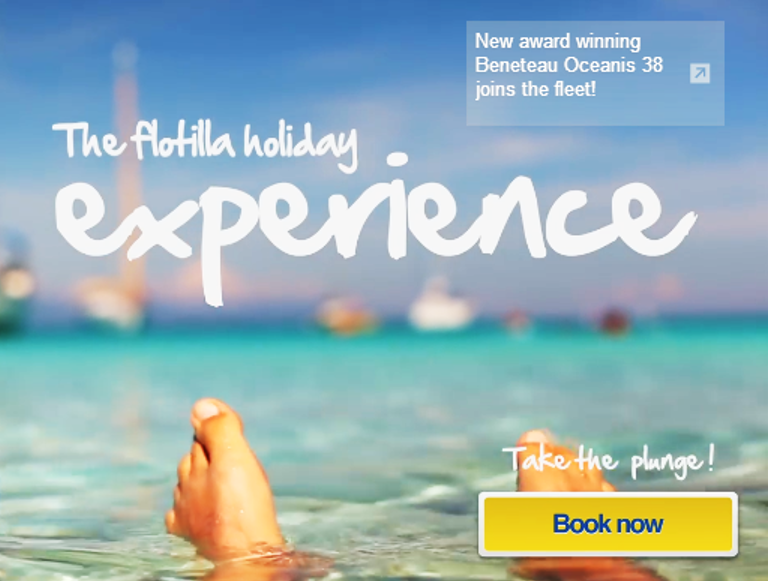Our video about the flotilla sailing holiday experience