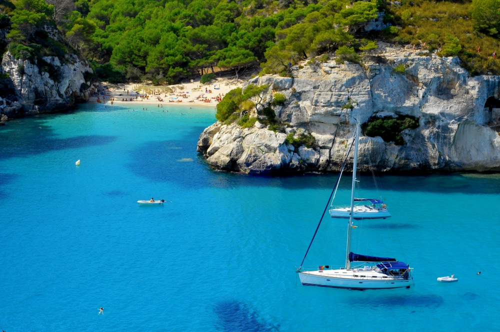 Misc Balearic Beach yacht anchored 3 1000x664
