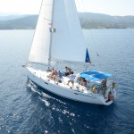 Beneteau 50 Sailing with friends
