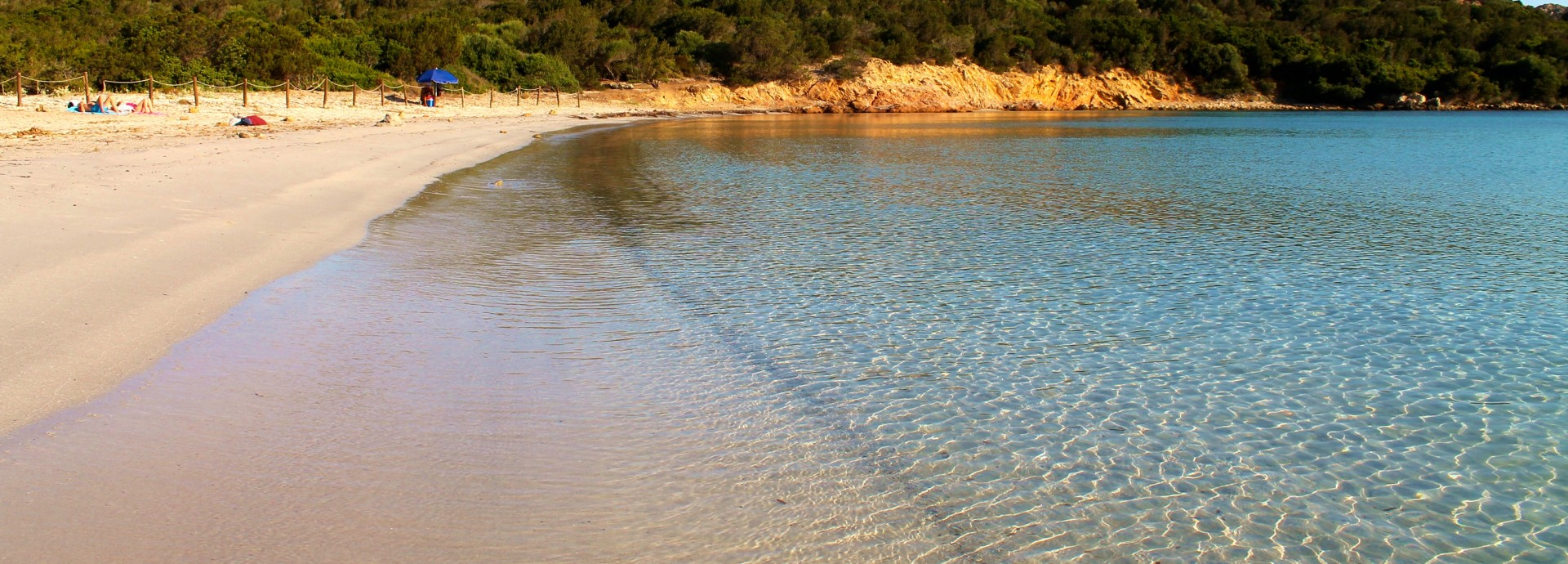 Beach on South East Caprera, Sardinia, Italy