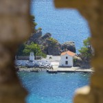 View from the fort in Parga Town taken by David Bentley