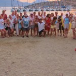 Flotilla Beach Party in the Saronic Islands by Patrick Bellew