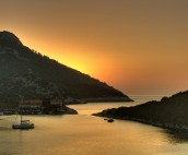 Lastovo Sunset Yacht Bay