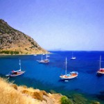 Beautiful tourism city Bodrum