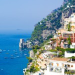 Positano coastal view