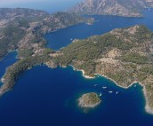 Aerial shot Turkey