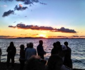 Sunset Punch Party Sayadha