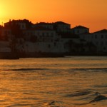 Sunset in the Saronic Islands by Patrick Bellew