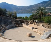 Epidavros Amphithatre and Bay