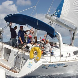 Sailing the Beneteau 50 with Tom the Skipper