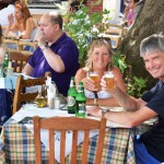 Beers in Skopelos in the Sporades Islands