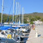 Agnondas Quay in the Sporades Islands