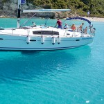 Beneteau 40 Anchored in Emerald Bay