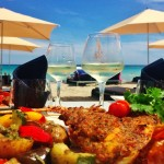 Wine on the beach in Corsica\'s Porto Vecchio