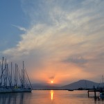 Sunset in Orei, Sporades Islands 2