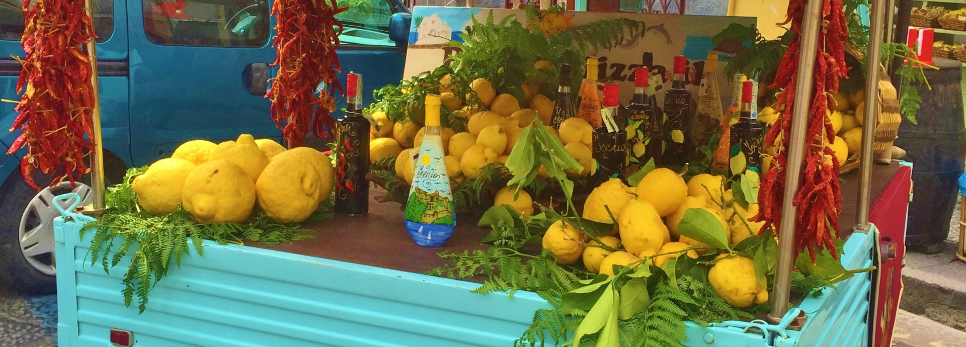 Local lemons in Ischia
