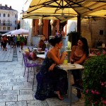 Coffee in Split Old Town - courtesy of the Croatian National Tourist Board