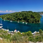 Bay near Gaios on Paxos Island