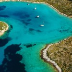 Aerial photograph of the Sporades Islands