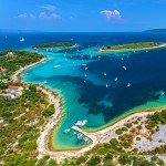 Otok Drevnik and surrounding islands courtesy of the Croatian National Tourist Board