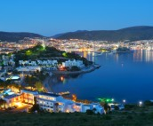 Nightview over Bodrum