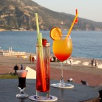 Cocktails at Harry's resturant and bar Oludeniz