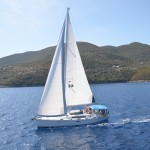 Beneteau 50 Sailing with friends 3