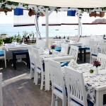 Waterside dining Oludeniz