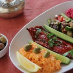 Turkey meze and dip