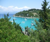 Lakka Bay, Paxos Island, Sailing in the Ionian