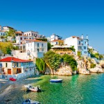 Skiathos Old Town View Bay