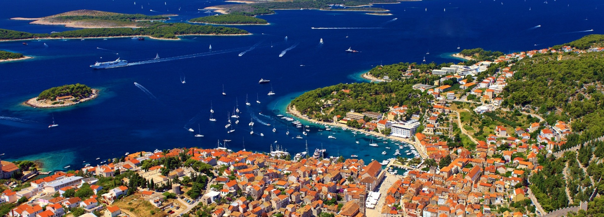 Hvar Panorama - Courtesy of the Croatian National Tourist Board