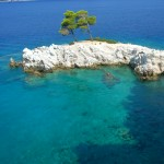 Bay on Skiathos Island