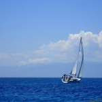 Yacht sailing in the Saronic Islands 2015