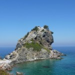 Mamma Mia Church on Skopelos Island, Sporades