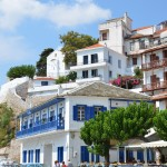 Skopelos Town, Sporades, Greek Building