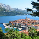 Korcula Old Town Panoramic