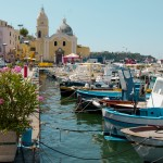 Island of Procida, Naples, Fishing boats