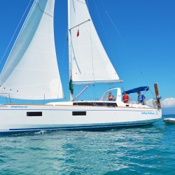 Beneteau 38.1 Sailing Faraway Islands