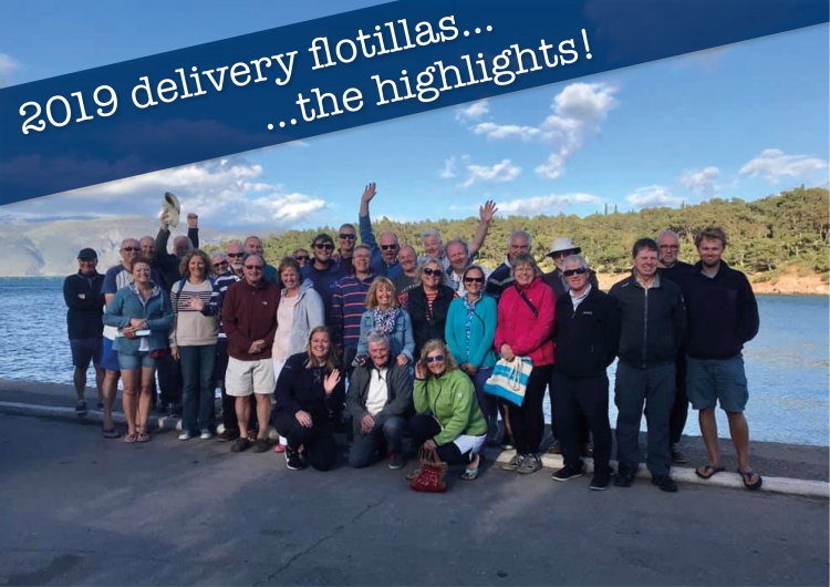 Our 2019 Delivery Flotilla Highlights