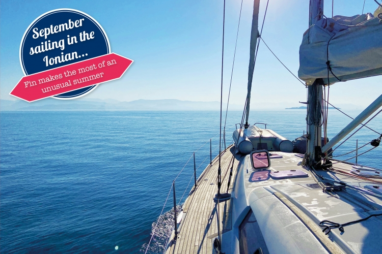 Yacht Charter Division manager Fin enjoys September sailing in the Ionian