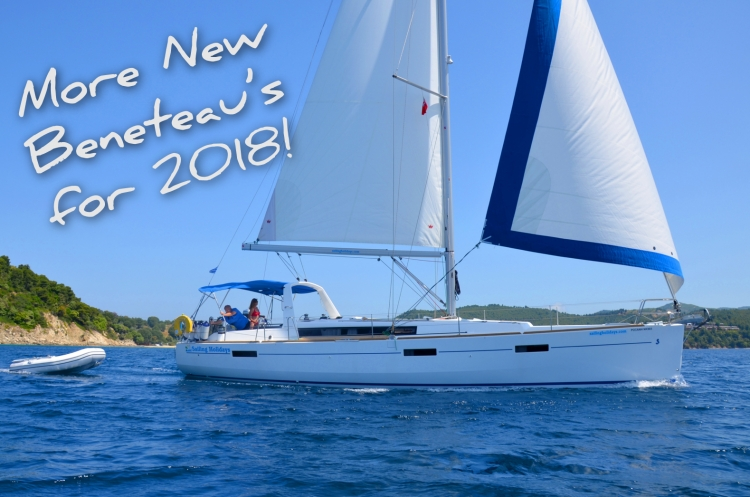 Sail these NEW boats in 2018...