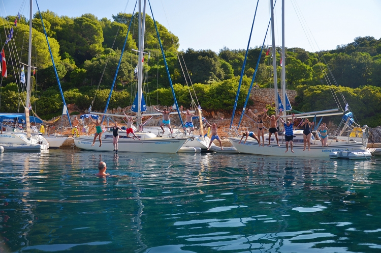 Late summer sailing in the Ionian Islands