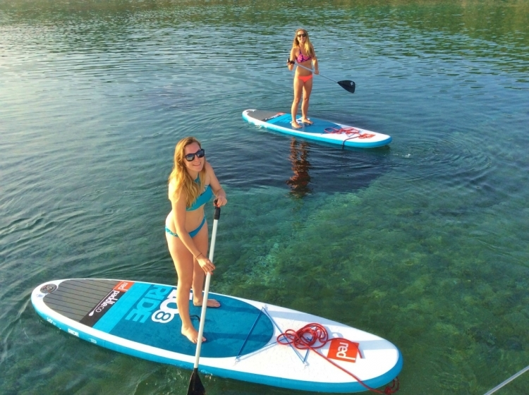Yacht Charter: SUP's, kayaks, windsurfers and more...