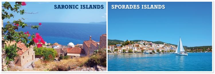 Where to find the wind in Greece? Saronic Islands vs. Sporades Islands…